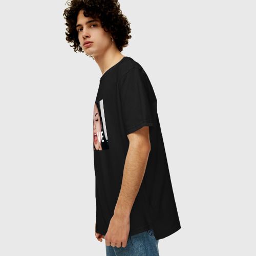 Мужская футболка хлопок Oversize Sasha Gray LOVE Фото 01