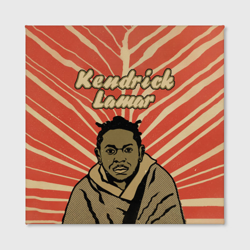 Холст квадратный  Фото 02, K-Dot (Kendrick Lamar)