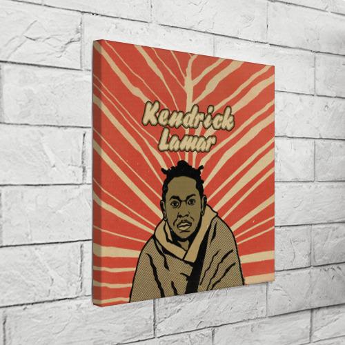 Холст квадратный  Фото 03, K-Dot (Kendrick Lamar)