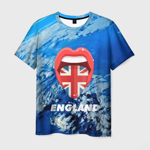 Мужская футболка 3D  Фото 01, England
