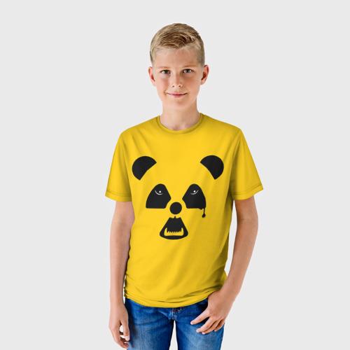Детская футболка 3D  Фото 01, Радиоактивная природа