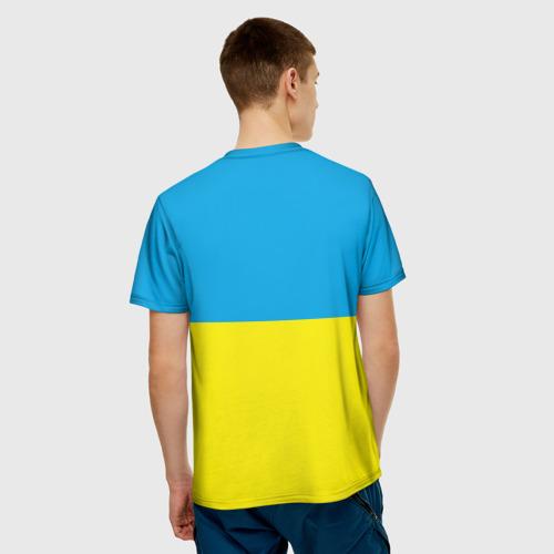 Мужская футболка 3D  Фото 02, За чистую энергию!
