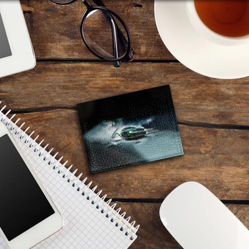 Обложка для студенческого билета  Фото 03, Призрачный Ford Mustang
