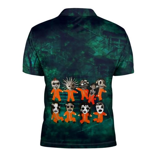 Мужская рубашка поло 3D Группа Slipknot Фото 01