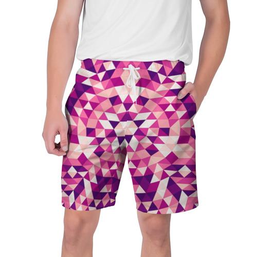 Мужские шорты 3D  Фото 01, Geometric pattern