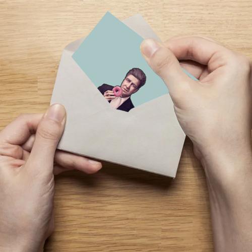 Поздравительная открытка Дэвид Линч Фото 01
