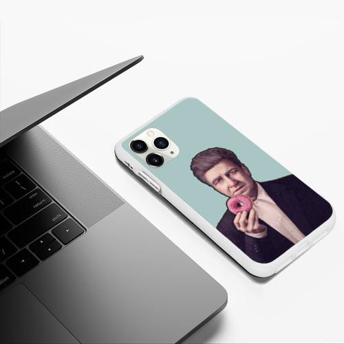 Чехол для iPhone 11 Pro Max матовый Дэвид Линч Фото 01