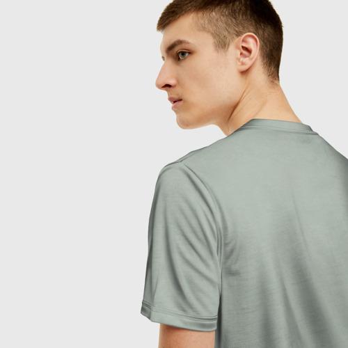 Мужская футболка 3D Грудная клетка Фото 01