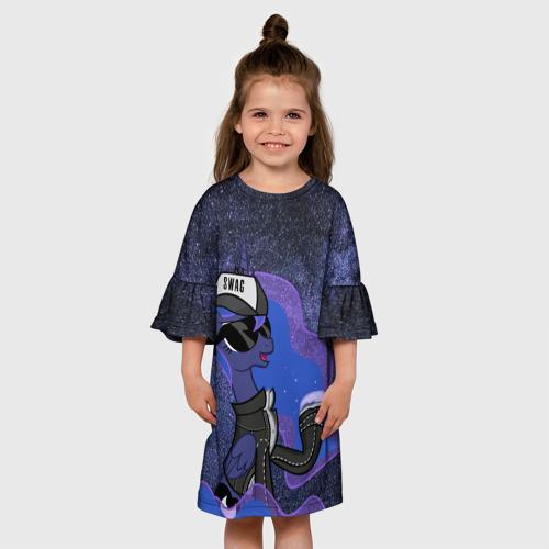 Детское платье 3D  Фото 01, Swag