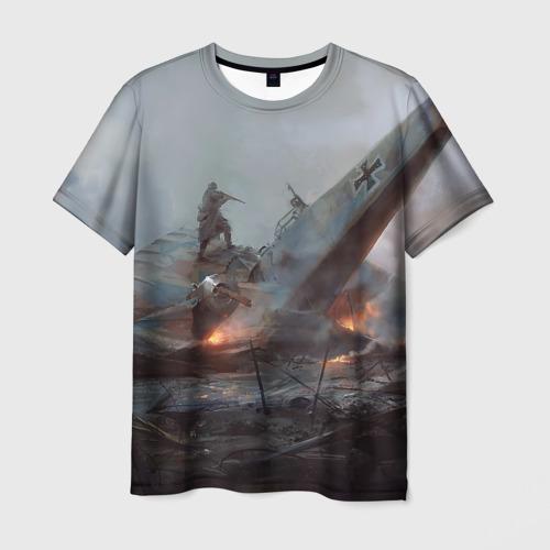 Мужская футболка 3D  Фото 03, A plain