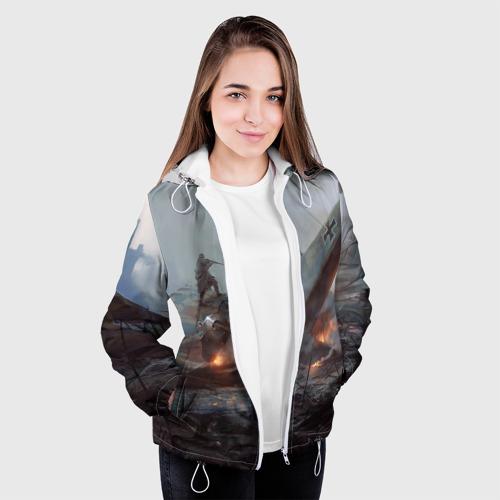 Женская куртка 3D  Фото 04, A plain