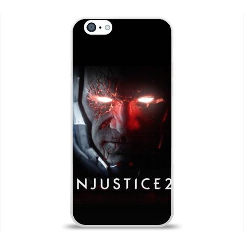 Чехол для Apple iPhone 6 силиконовый глянцевый  Фото 01, injustice