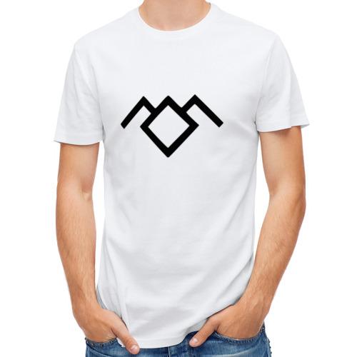 Мужская футболка полусинтетическая  Фото 01, Твин Пикс лого