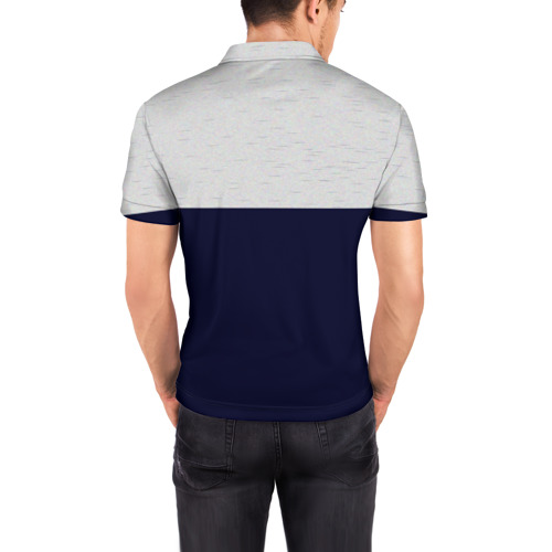 Мужская рубашка поло 3D  Фото 04, Manchester United - Vintage style