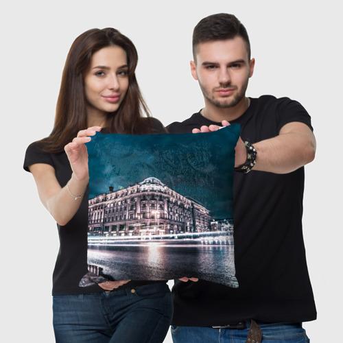 Подушка 3D  Фото 05, 870 лет Москве