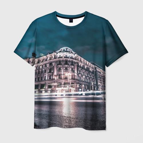 Мужская футболка 3D  Фото 03, 870 лет Москве
