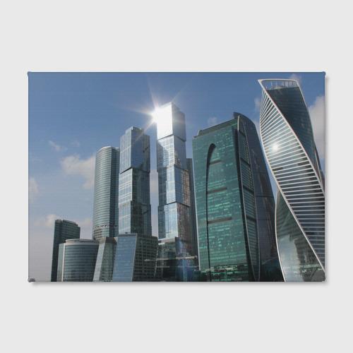 Холст прямоугольный  Фото 02, Москва-сити