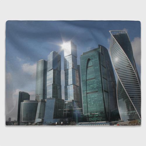 Плед 3D  Фото 03, Москва-сити