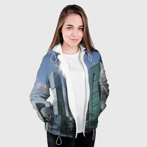 Женская куртка 3D  Фото 04, Москва-сити