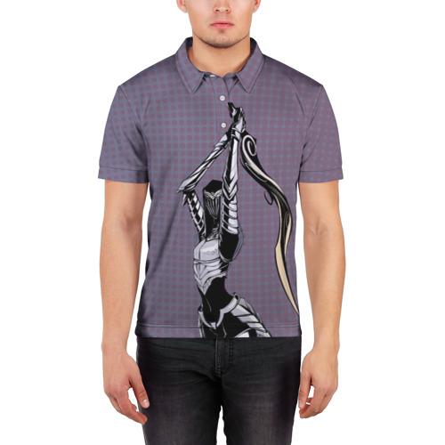 Мужская рубашка поло 3D  Фото 03, Dark Souls