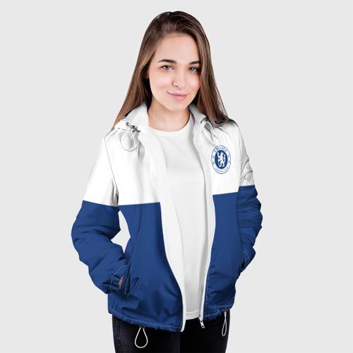 Женская куртка 3D  Фото 04, Chelsea - Light Blue