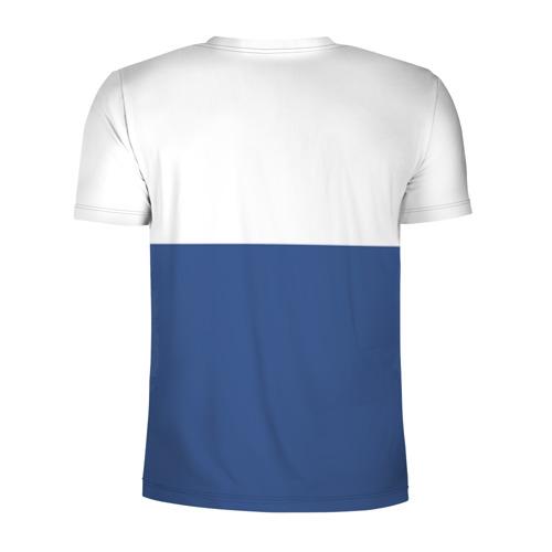 Мужская футболка 3D спортивная Chelsea - Light Blue Фото 01