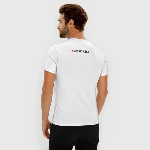 Мужская футболка премиум МОСКВА Фото 01