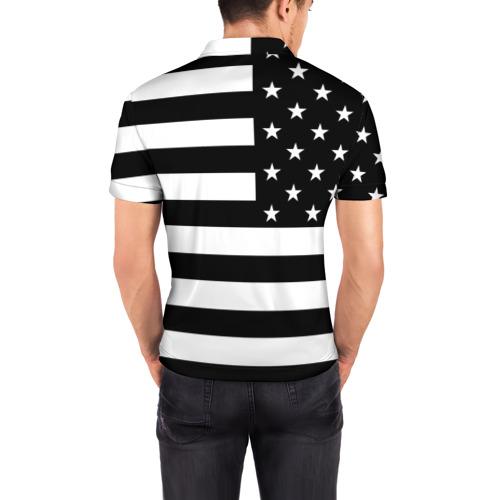 Мужская рубашка поло 3D  Фото 04, Символика США