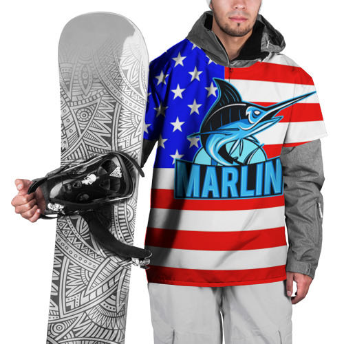 Накидка на куртку 3D  Фото 01, Marlin USA