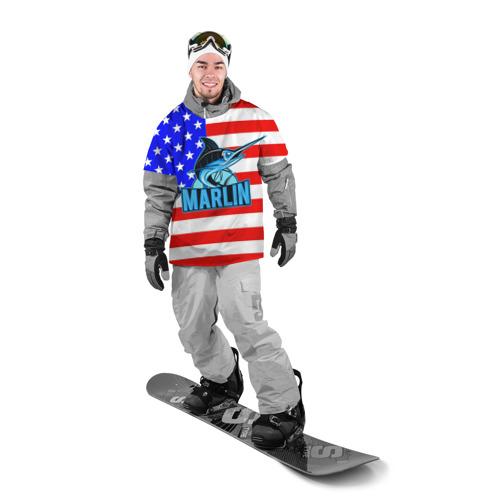 Накидка на куртку 3D  Фото 03, Marlin USA