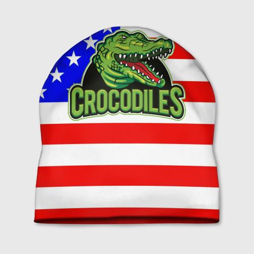 Шапка 3D  Фото 01, Крокодил USA