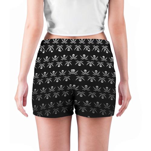 Женские шорты 3D  Фото 04, Пиратский pattern