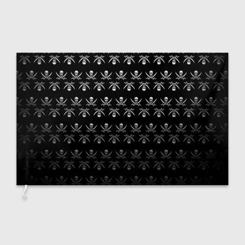 Флаг 3D  Фото 03, Пиратский pattern