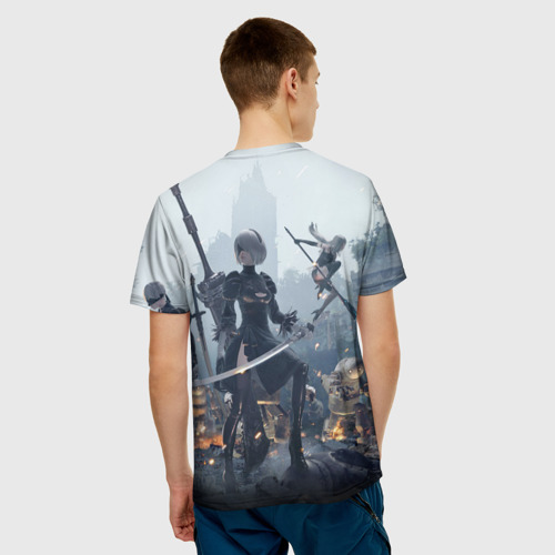 Мужская футболка 3D  Фото 04, Nier automata
