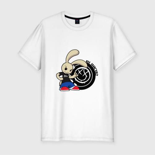 Мужская футболка премиум  Фото 01, Заяц Blink-182