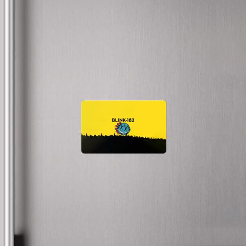 Магнит виниловый Visa  Фото 04, Blink-182 город