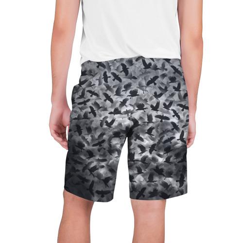 Мужские шорты 3D  Фото 02, Вороны
