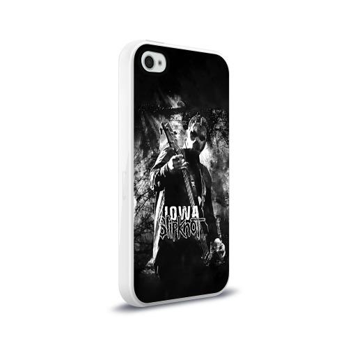Чехол для Apple iPhone 4/4S силиконовый глянцевый  Фото 02, Slipknot iowa