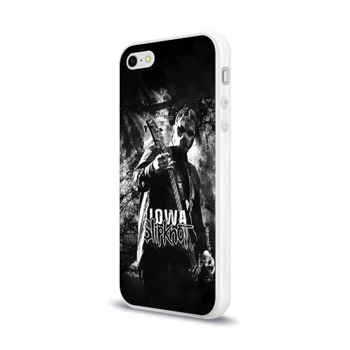 Чехол для Apple iPhone 5/5S силиконовый глянцевый  Фото 03, Slipknot iowa
