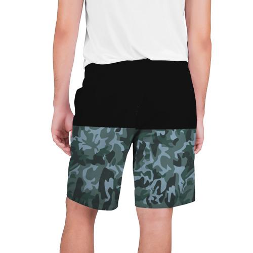 Мужские шорты 3D  Фото 02, Зимний Камуфляж
