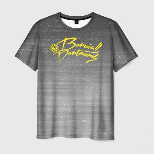 Мужская футболка 3D  Фото 01, Borussia Dortmund - New Design 2018