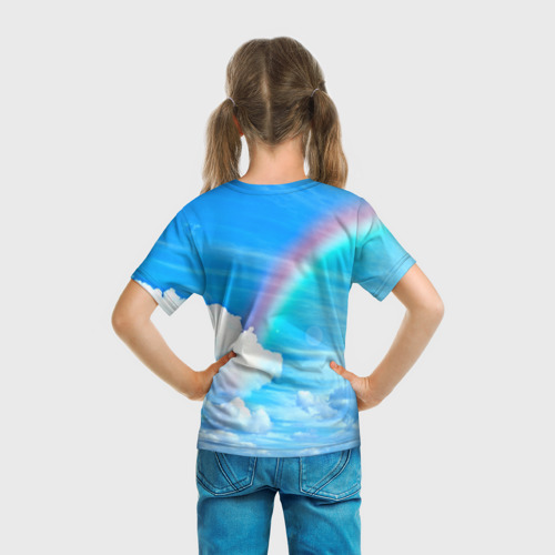 Детская футболка 3D Единорог Фото 01