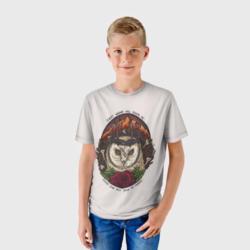 Детская футболка 3D  Фото 01, Every wound will shape me