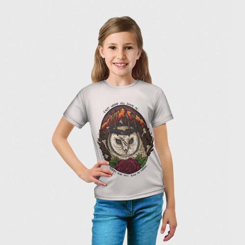 Детская футболка 3D  Фото 03, Every wound will shape me