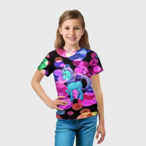 Детская футболка 3D Милый единорог Фото 01