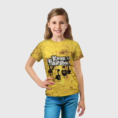 Детская футболка 3D  Фото 03, Группа Bring Me the Horizon