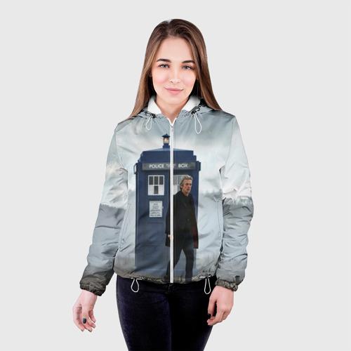 Женская куртка 3D доктор кто Фото 01