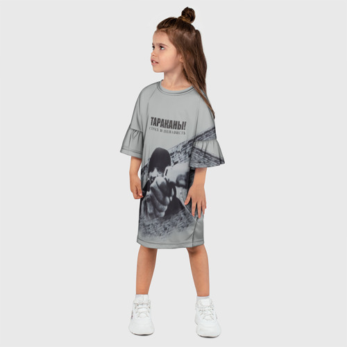 Детское платье 3D  Фото 03, Тараканы