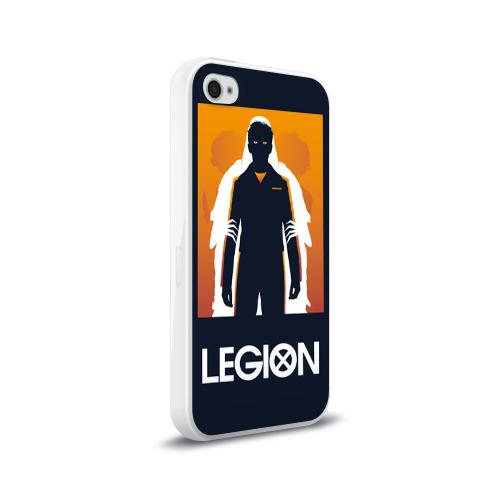 Чехол для Apple iPhone 4/4S силиконовый глянцевый  Фото 02, Легион