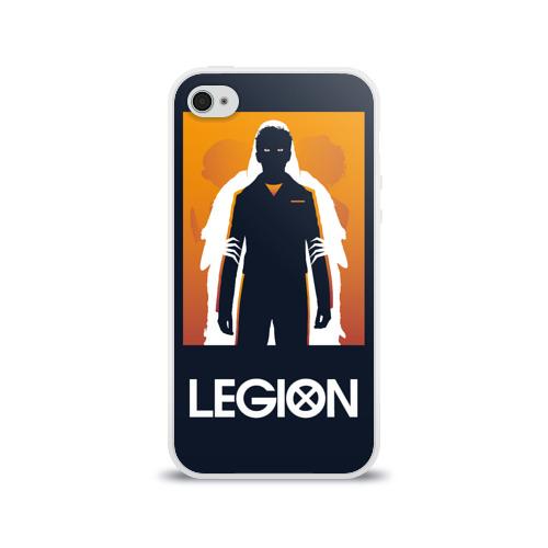 Чехол для Apple iPhone 4/4S силиконовый глянцевый  Фото 01, Легион